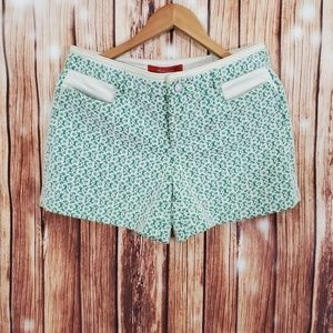 Anthropologie Cartonnier Shorts 6 Green